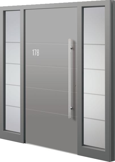 g nstige haust r aus aluminium 4 aktions haust ren in 8 farben w rme ged mmt und sicher. Black Bedroom Furniture Sets. Home Design Ideas